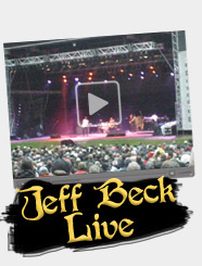 Jeff Beck & Band Live Video